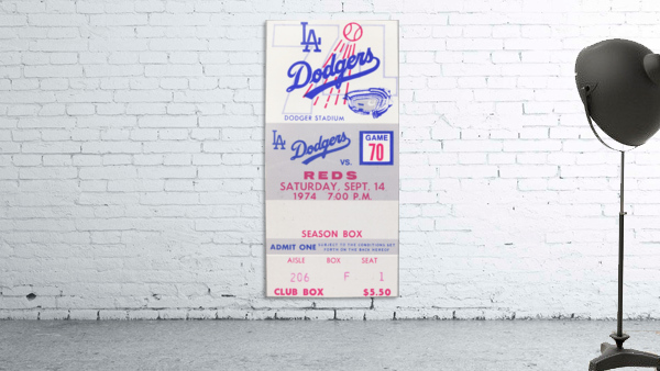 1974 LA Dodgers vs. Reds