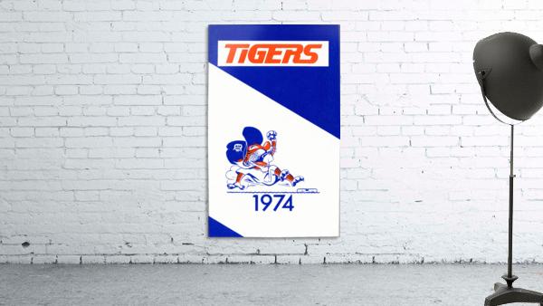 1974 Detroit Tigers Art