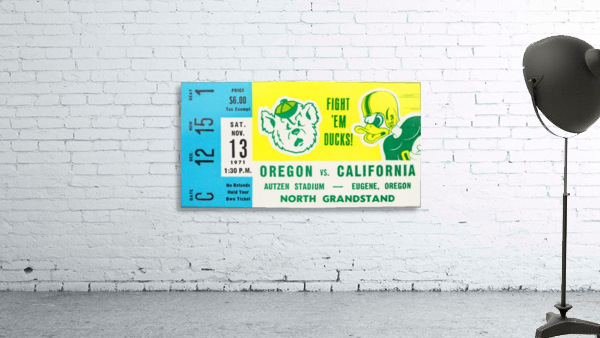 1971 California vs. Oregon
