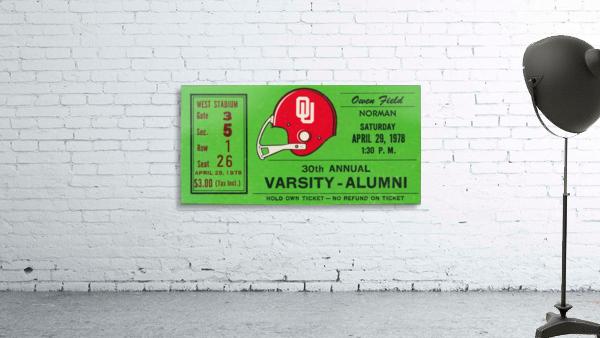 1978 Oklahoma Sooners Varsity Alumni Game