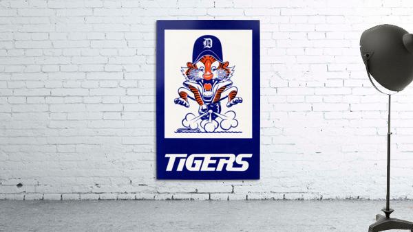 1972 Detroit Tigers Art