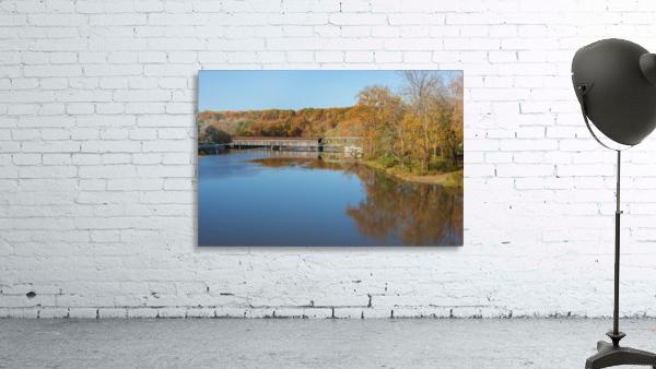 Grand River and Harpersfield covered bridge