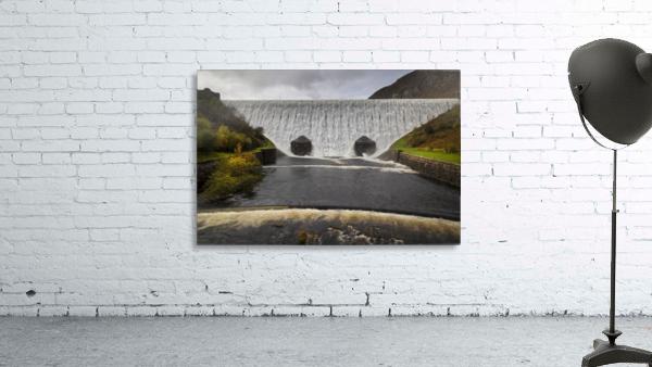 The Elan Valley dam