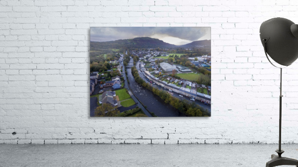 The river Tawe in Ystradgynlais