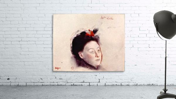 Portrait of Madame Lisle by Degas