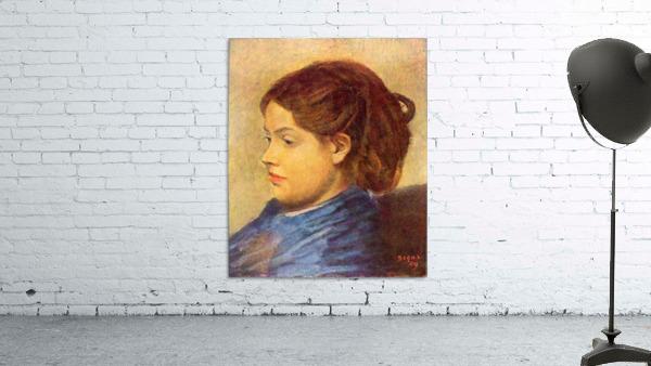 Portrait of Mademoiselle Dobigny by Degas