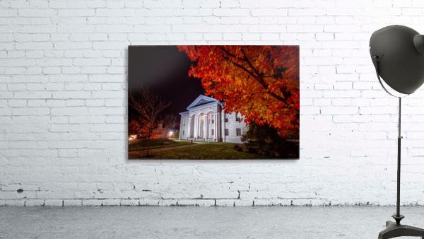 Courthouse Autumn Night