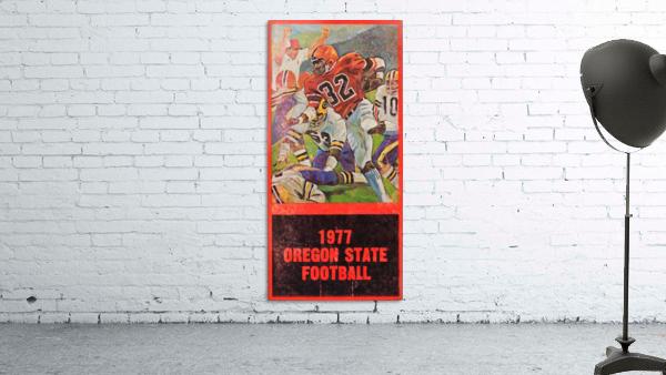 1977 Oregon State Football Art
