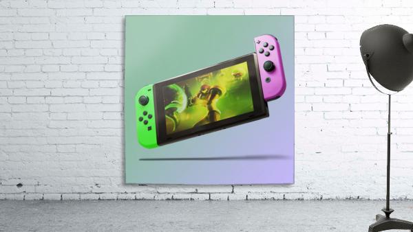 Nintendo Switch Green Pink