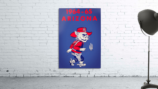 1964 Arizona Wildcat Art
