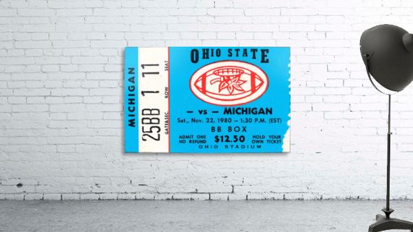 1980 Ohio State vs. Michigan