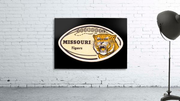 1965 Missouri Tiger Football Art