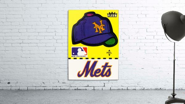 1981 New York Mets Fleer Decal Art