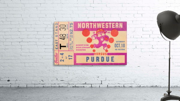1942 Northwestern vs. Purdue