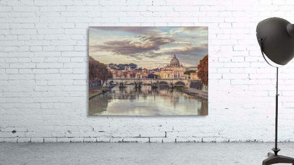View of Basilica di San Pietro in Vatican, Rome, Italy