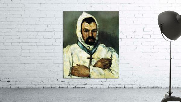 Portrait of Uncle Dominique as a monk by Cezanne