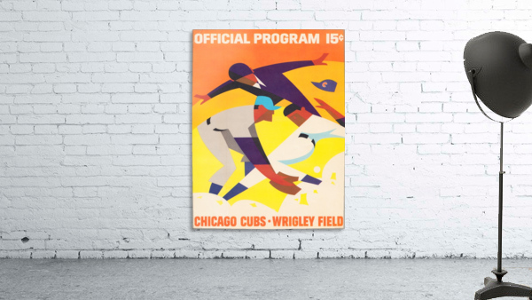 1967 Chicago Cubs Program