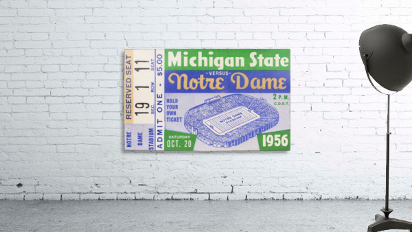 1956 Michigan State vs. Notre Dame
