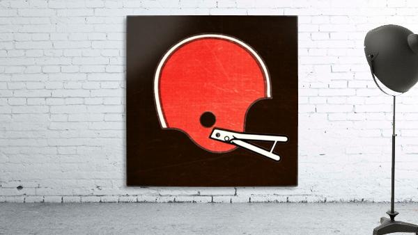 1982 Cleveland Browns Helmet Art