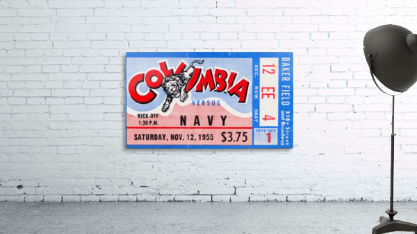 1955 Columbia vs. Navy