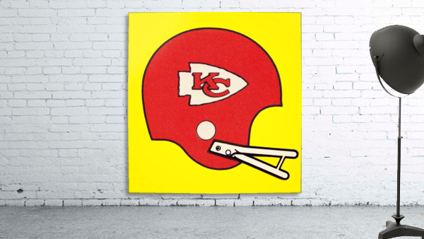 1982 Kansas City Chiefs Helmet Art