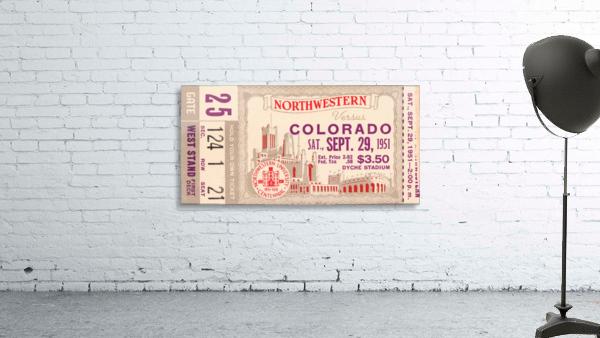 1951 Northwestern vs. Colorado