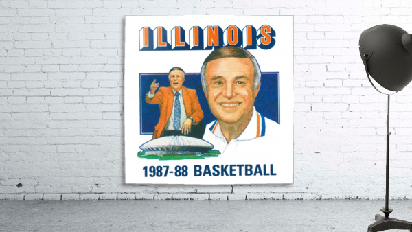 1987 Illinois Basketball Lou Henson