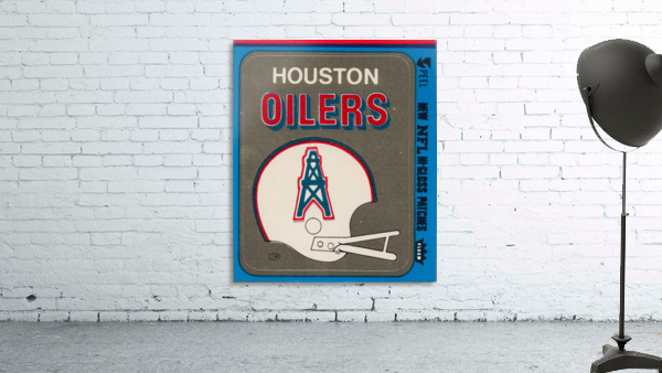 1981 Houston Oilers Helmet