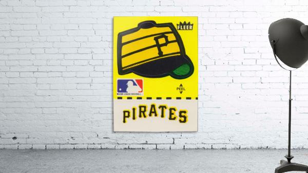 1981 Pittsburgh Pirate Fleer Decal Art