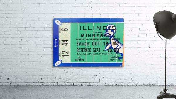 1952 Minnesota vs. Illinois