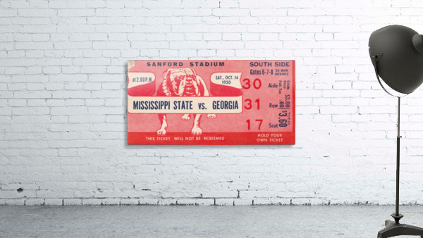 1950 Mississippi State vs. Georgia