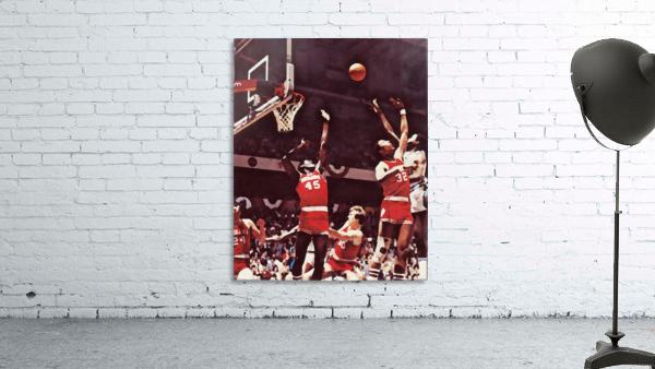 1981 Indiana Basketball Art