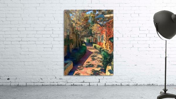 Hokusai alley