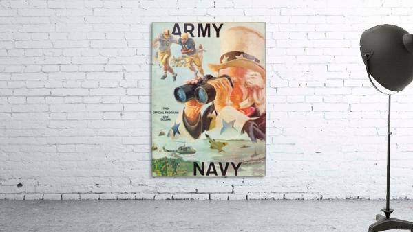 1966 Army vs. Navy Football Program