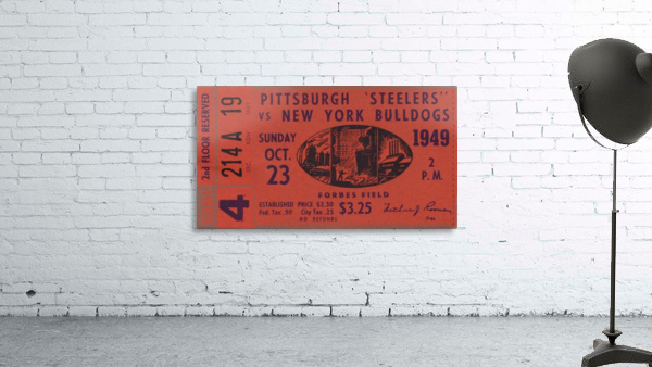 1949 Pittsburgh Steelers vs. New York Bulldogs