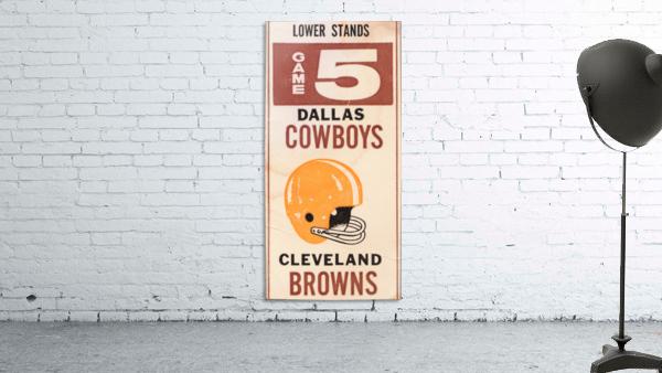 1969 Cleveland Browns vs. Dallas Cowboys