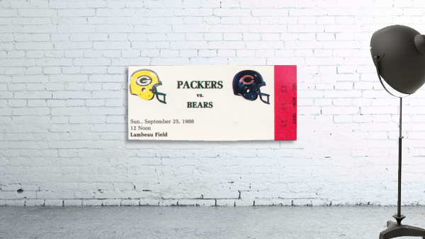 1988 Green Bay Packers vs. Chicago