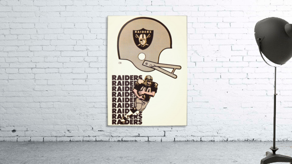 1976 Oakland Raiders Art