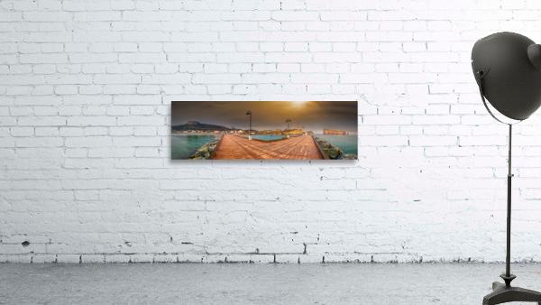Panorama du quai de Perce