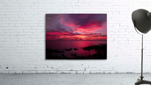 Bliss One - Pink and Purple Kissed Skies Over Hawaii