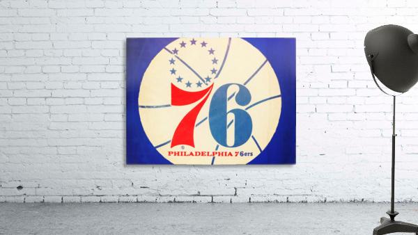 Vintage Philadelphia 76ers Art