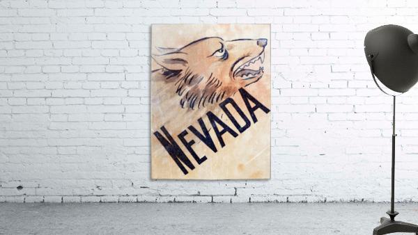 1946 Nevada Wolfpack Art