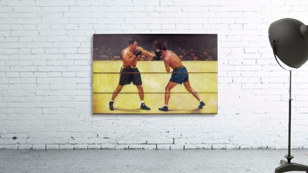 Vintage Boxing Art