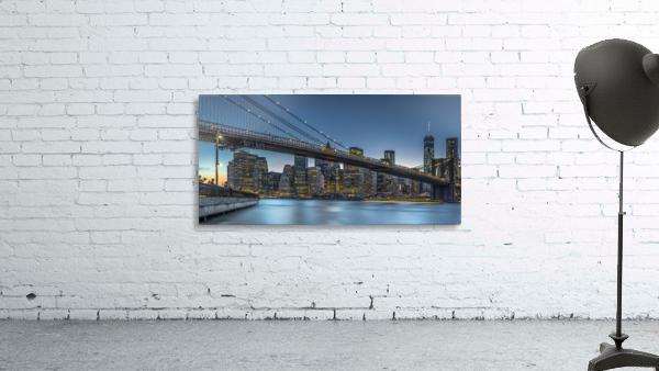 New York - Blue Hour over Manhattan
