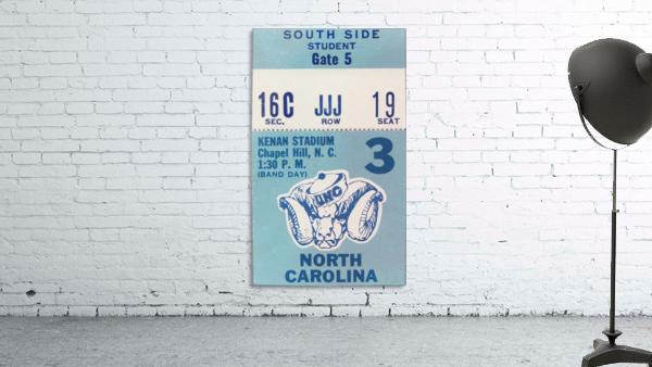 1978 North Carolina Student Ticket