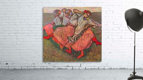 Russian Dancers by Degas