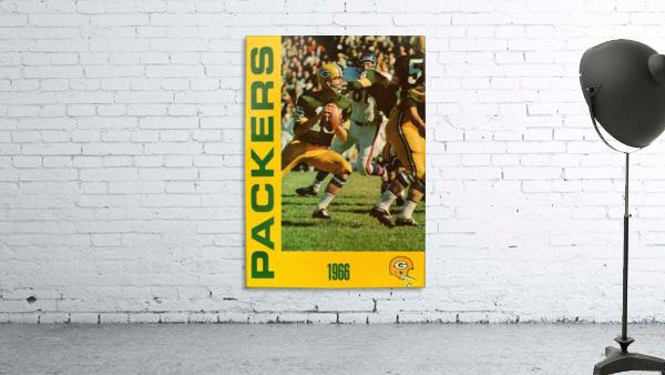 1966 Green Bay Packers Football Art