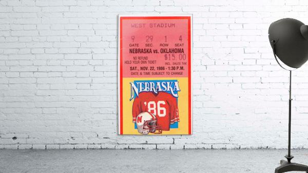 1986 Oklahoma vs. Nebraska