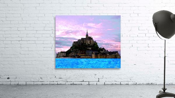 Mont St Michel at Sunset