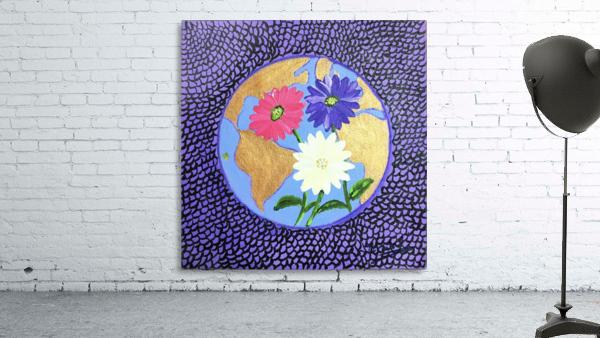 The Earth Daisy Husama Styl-Background
